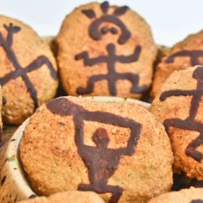 Hawaiian Petroglyph Cookies