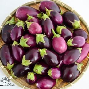 Roasted Mini Eggplant