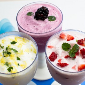 Greek Yogurt Slushies