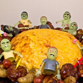 Zombie Mac and Cheese Brain