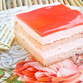 Guava Chiffon Cake